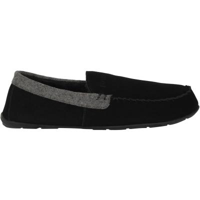 Papuci de Casa Firetrap Moccasin pentru Barbati negru