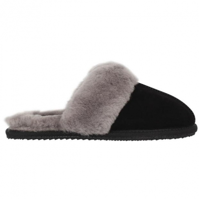 Papuci de Casa Firetrap Mule negru
