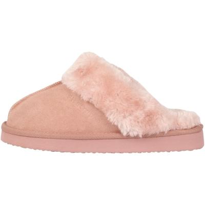 Papuci de Casa Firetrap Mule pentru Femei roz