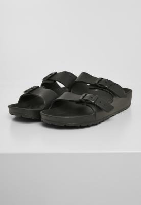 Papuci de Casa Gum negru Urban Classics