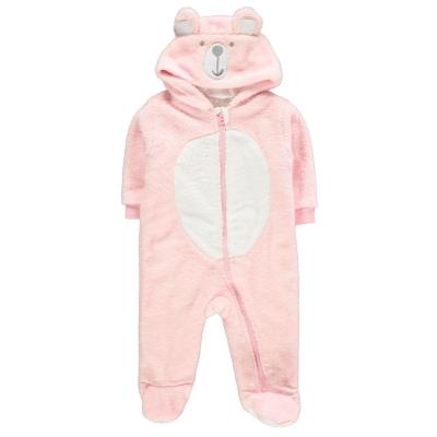 Pijamale bebelusi Crafted Mini Bear roz nbg