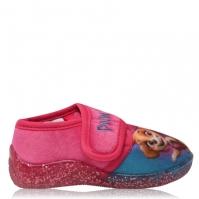 Papuci de Casa Patrol pentru fete pentru Bebelusi cu personaje roz