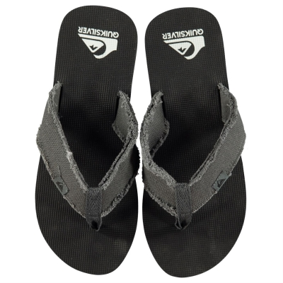 Papuci de plaja Quiksilver Dipsy pentru Barbati verde negru