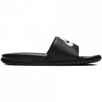 Papuci flip flop Nike Benassi Just Do It negru 343881 015 pentru femei