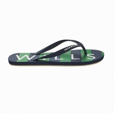 Papuci de plaja Jack Wills Newlands verde