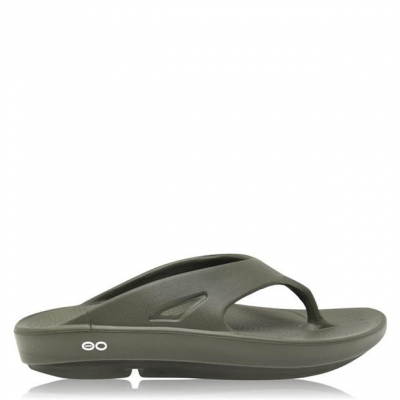 Papuci OOFOS Ooriginal verde