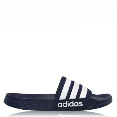 Papuci plaja adidas Adilette pentru Barbati bleumarin alb