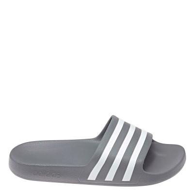 Papuci plaja adidas Duramo (1 pair) pentru Barbati gri alb