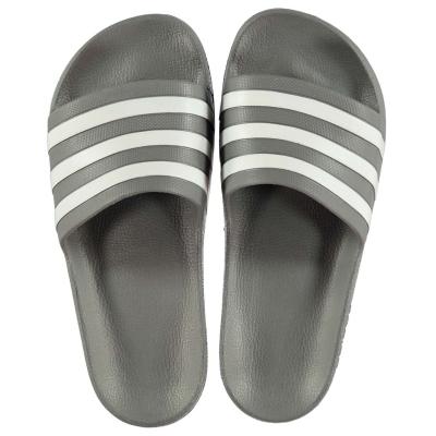 Papuci plaja adidas Duramo pentru Barbati gri alb