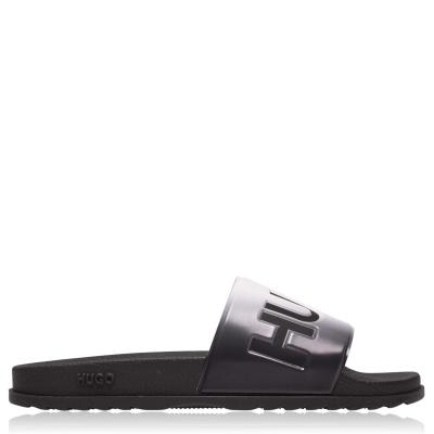 Papuci plaja HUGO Match gri fade