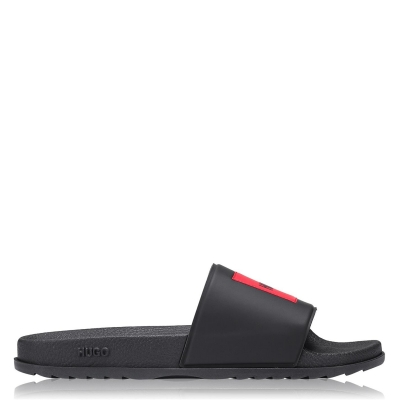 Papuci plaja HUGO Match negru