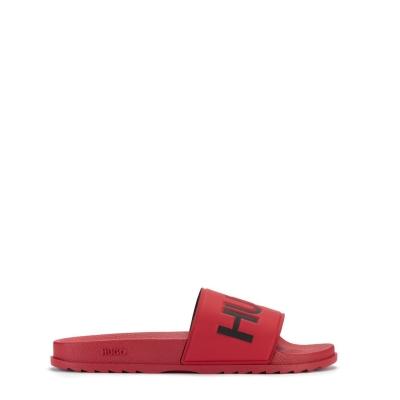 Papuci plaja HUGO Match rosu