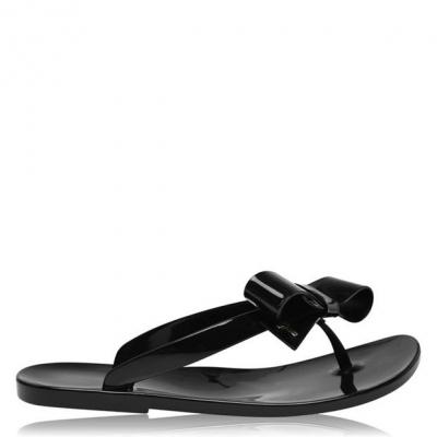 Papuci de plaja Ted Baker Bejouw Jelly negru