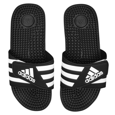 Papuci Sandale adidas Adissage pentru Barbati negru alb