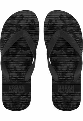 Papuci vara inchis-camuflaj Urban Classics