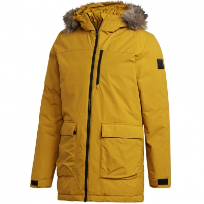 Parka Adidas Xploric galben GK3551 pentru Barbati