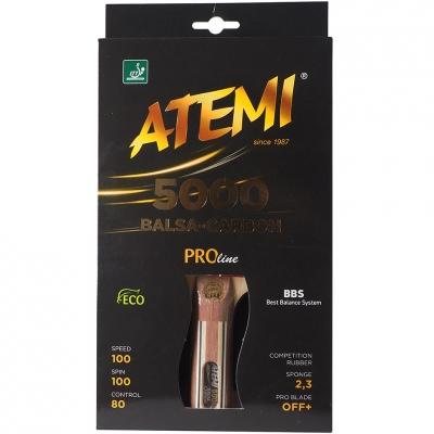 Patty pentru Ping Pong Atemi 5000 New Pro Concave