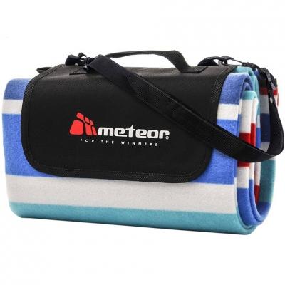 Patura pentru picnic Meteor Blanket 120x135cm L bleumarin-rosu-alb 77091