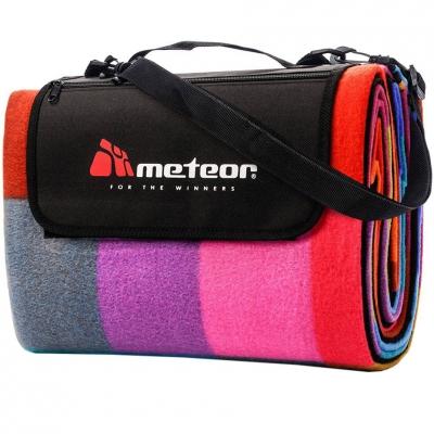Patura pentru picnic Meteor Blanket 180x200cm XL Multicolor Checkered 77056