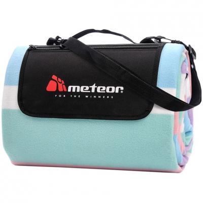 Patura pentru picnic Meteor Blanket 180x200cm XL Multicolour Stripes 77102