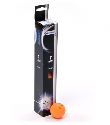 Set de 6 Mingi Ping Pong DONIC T-ONE portocaliu /