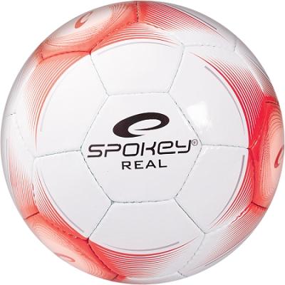 Minge fotbal SPOKEY REAL II alb / gri roz 5/833963