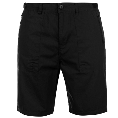 Pantaloni scurti Pierre Cardin Utility pentru Barbati negru