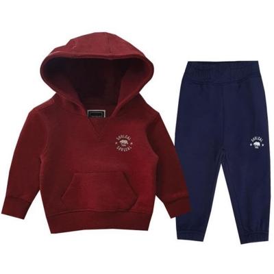 Pijama SoulCal Signature Unisex pentru Bebelusi albastru rosu