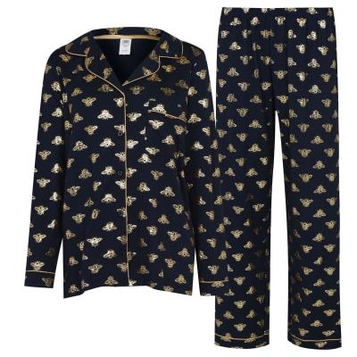 Pijamale Chelsea Peers Foil Bee bleumarin