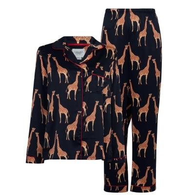 Pijamale Chelsea Peers Premium bleumarin giraffes