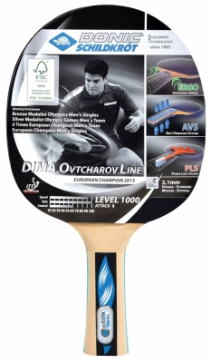 Ping Pong Rack Donic Ovtcharov 1000 754411