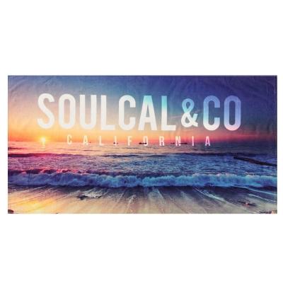 Prosop SoulCal Beach albastru multicolor