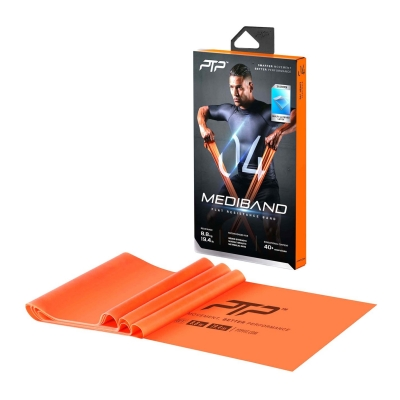 PTP Mediband Flat Resistance Band portocaliu