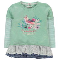 Pulover Crafted Bird Frill Child pentru fete