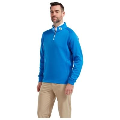 Pulover Footjoy Chillout pentru Barbati albastru