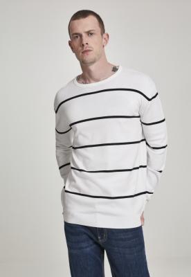 Pulover Line cu dungi negru-alb Urban Classics