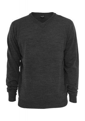 Bluze tricotate cu maneca lunga gri carbune Urban Classics