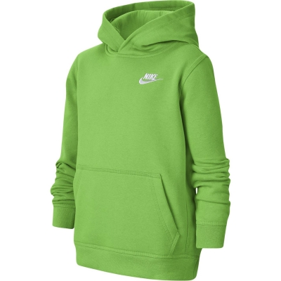 Pulovere Hanorac Nike Sportswear Club pentru baietei verde spark