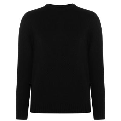 Pulovere tricotate Firetrap Textured pentru Barbati negru