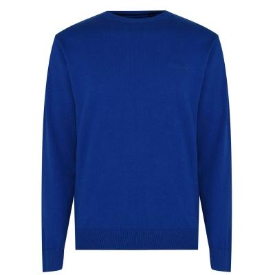 Pulovere tricotate Pierre Cardin Crew pentru Barbati albastru
