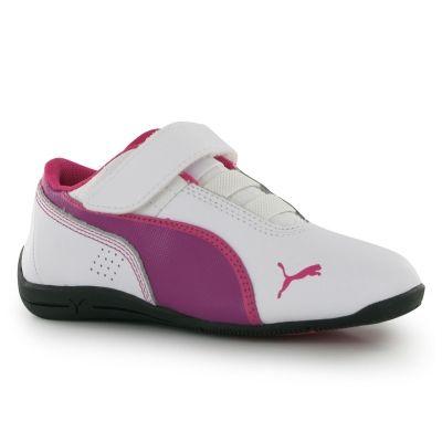 Adidasi din piele pentru copii Puma D Cat