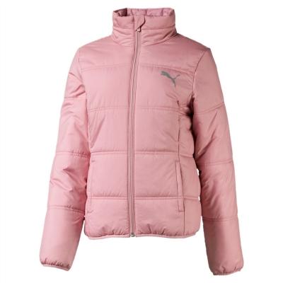 Jacheta Puma Essential cu captuseala Child pentru fete bridal roz