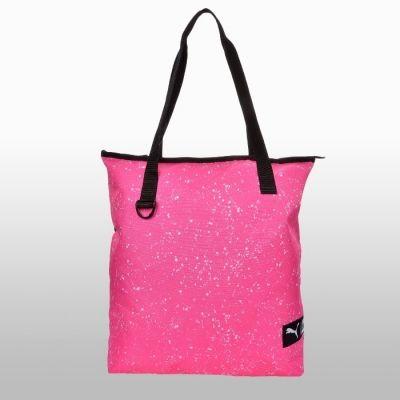 Geanta roz Puma Fundamentals Shopper Ii Knocko Femei