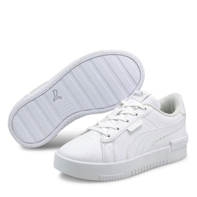 Adidasi sport Puma Jada Court Child pentru fete alb