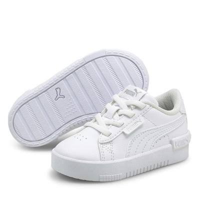 Adidasi sport Puma Jada pentru fete pentru Bebelusi alb