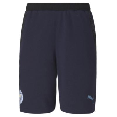 Pantaloni scurti Puma Manchester City FC Casual pentru Barbati albastru