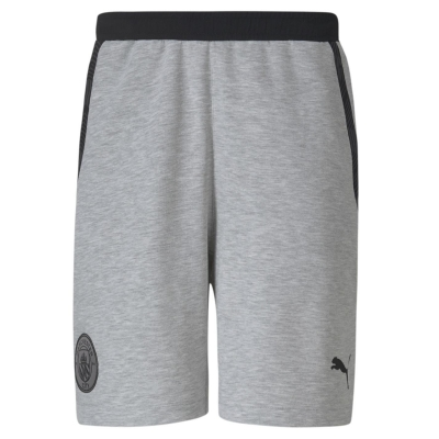 Pantaloni scurti Puma Manchester City FC Casual pentru Barbati gri negru