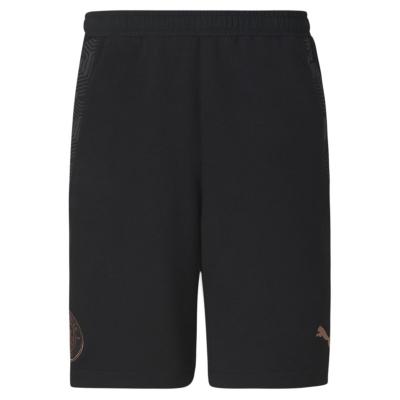 Pantaloni scurti Puma Manchester City FC Casual pentru Barbati negru maro