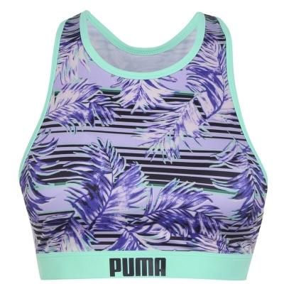 Sutien baie Puma Print spate decoltat multicolor