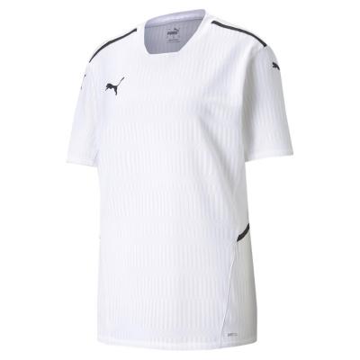 Puma Teamcup Jersey pentru barbati alb